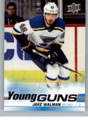 2019-20 SP Authentic NHL Upper Deck Update Young Guns #527 Jake Walman St. Louis Blues  Official UD Hockey Trading Card