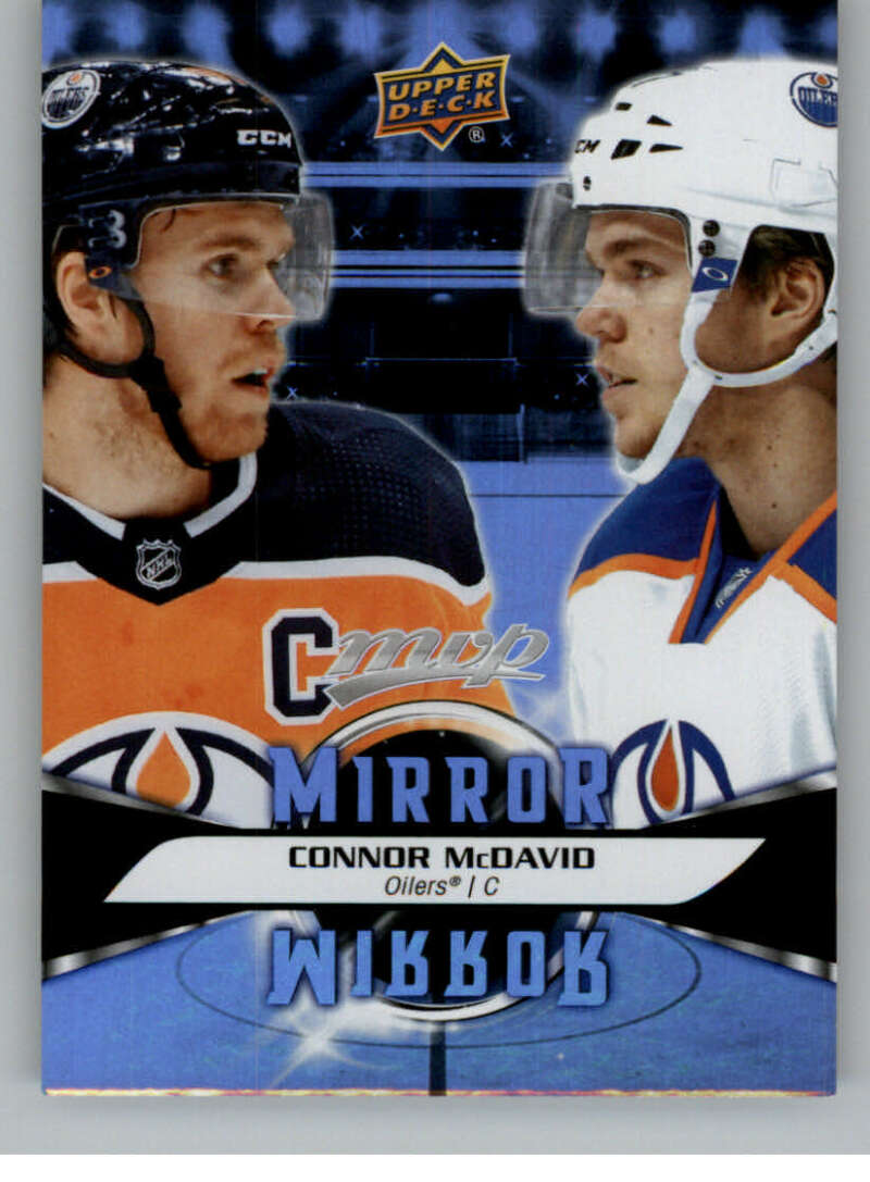 2020-21 Upper Deck MVP Mirror Mirror Variation