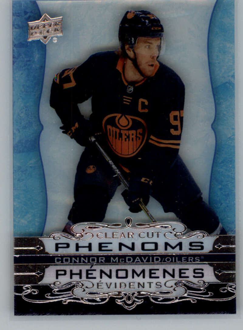2020-21 Upper Deck Tim Hortons Clear Cut Phenoms