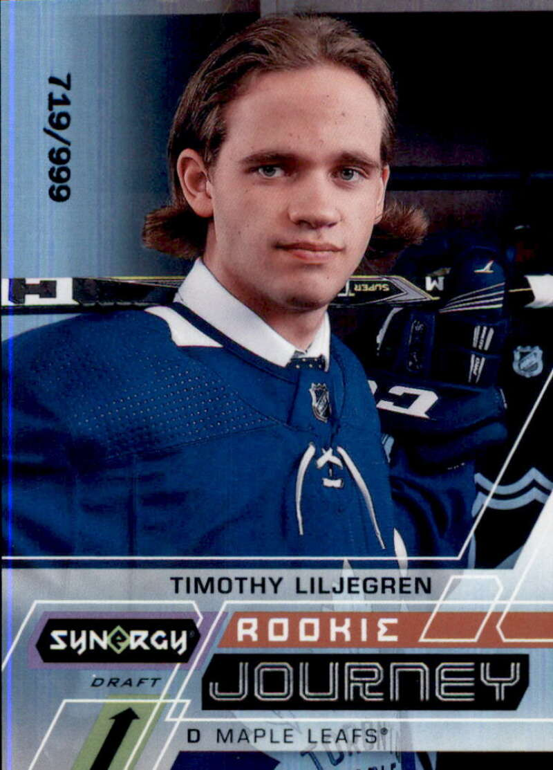 2020-21 Upper Deck Synergy Rookie Journey Draft