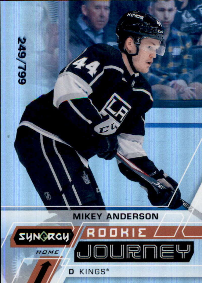 2020-21 Upper Deck Synergy Rookie Journey Home