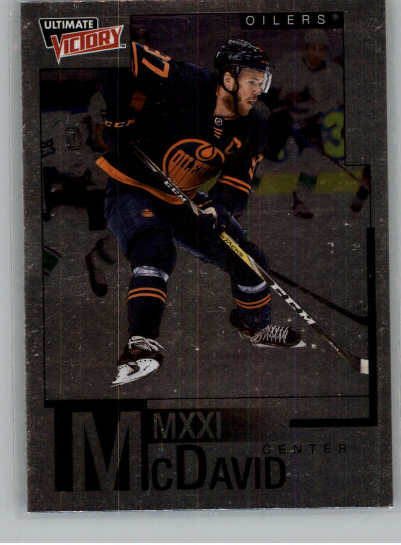 2020-21 Upper Deck Extended Series McDavid MMXXI