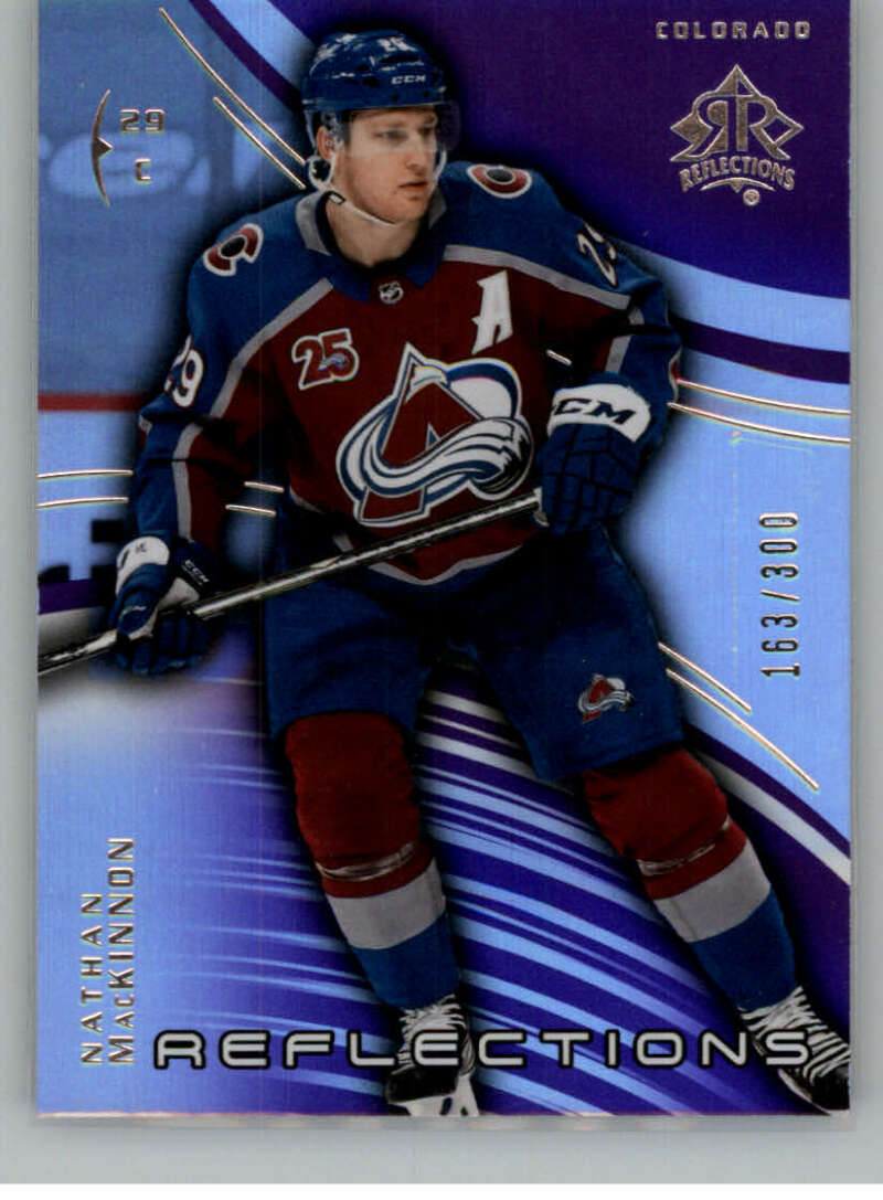2020-21 Upper Deck Extended Series Triple Dimensions Reflections Amethyst