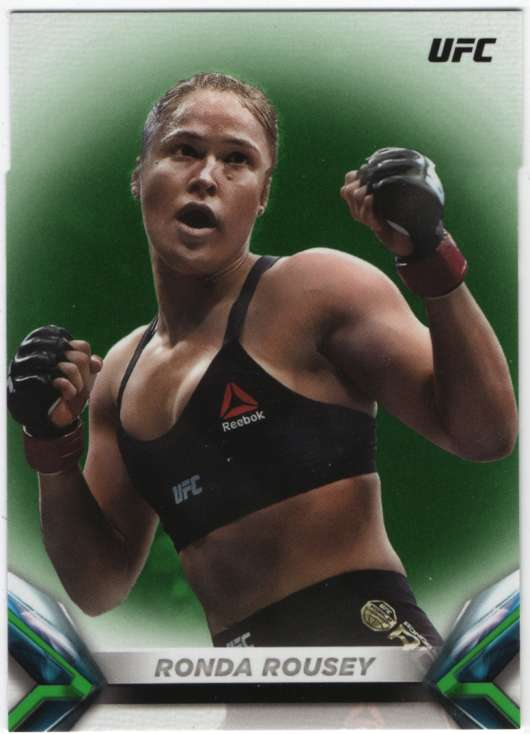 2018 Topps Knockout Green