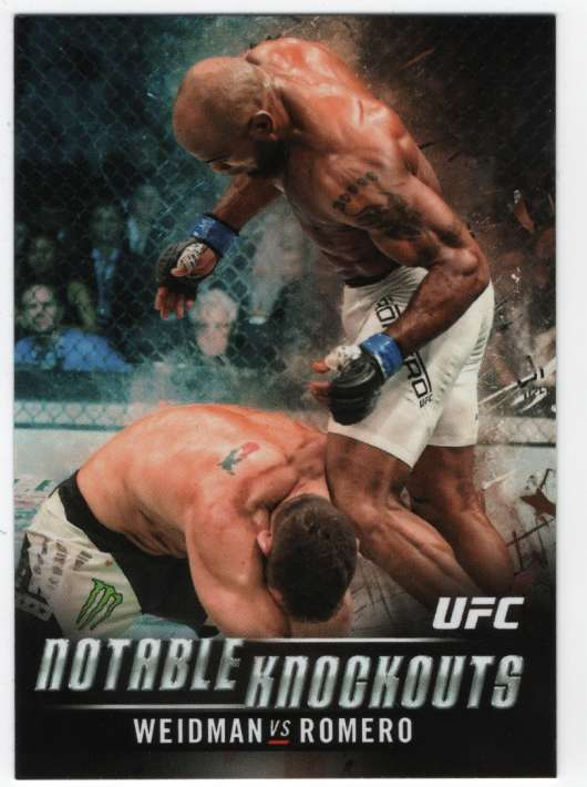 2018 Topps Knockout Notable Knockouts