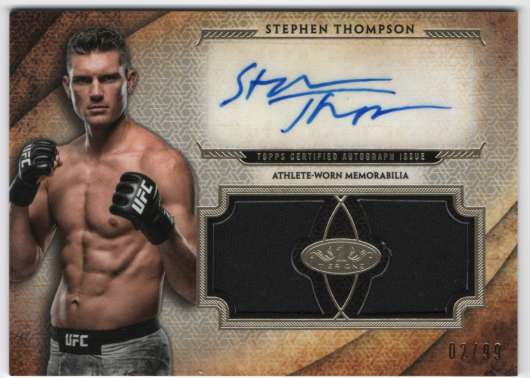 2018 Topps Knockout Tier One Autographed Dual Relics