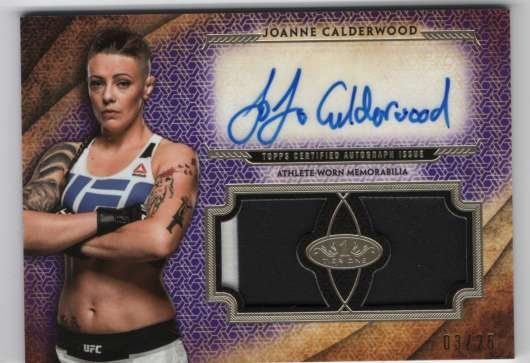 2018 Topps Knockout Tier One Autographed Dual Relics Purple