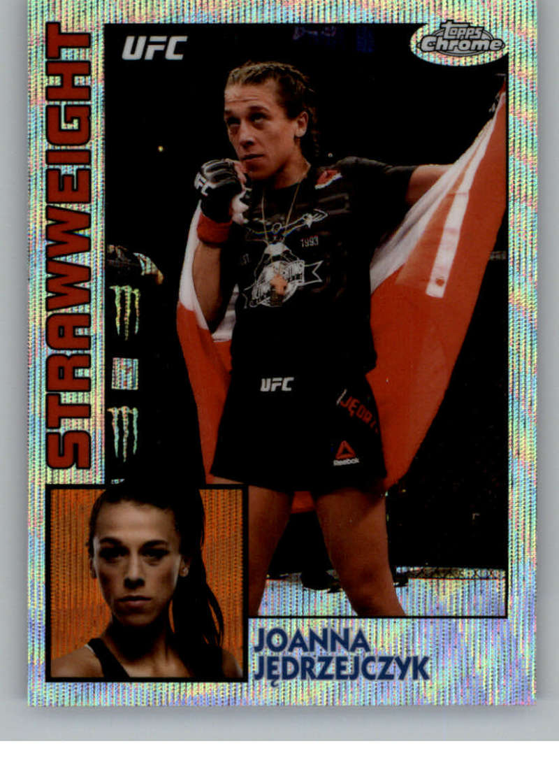 2019 Topps UFC Chrome 1984 Topps Wave Refractor