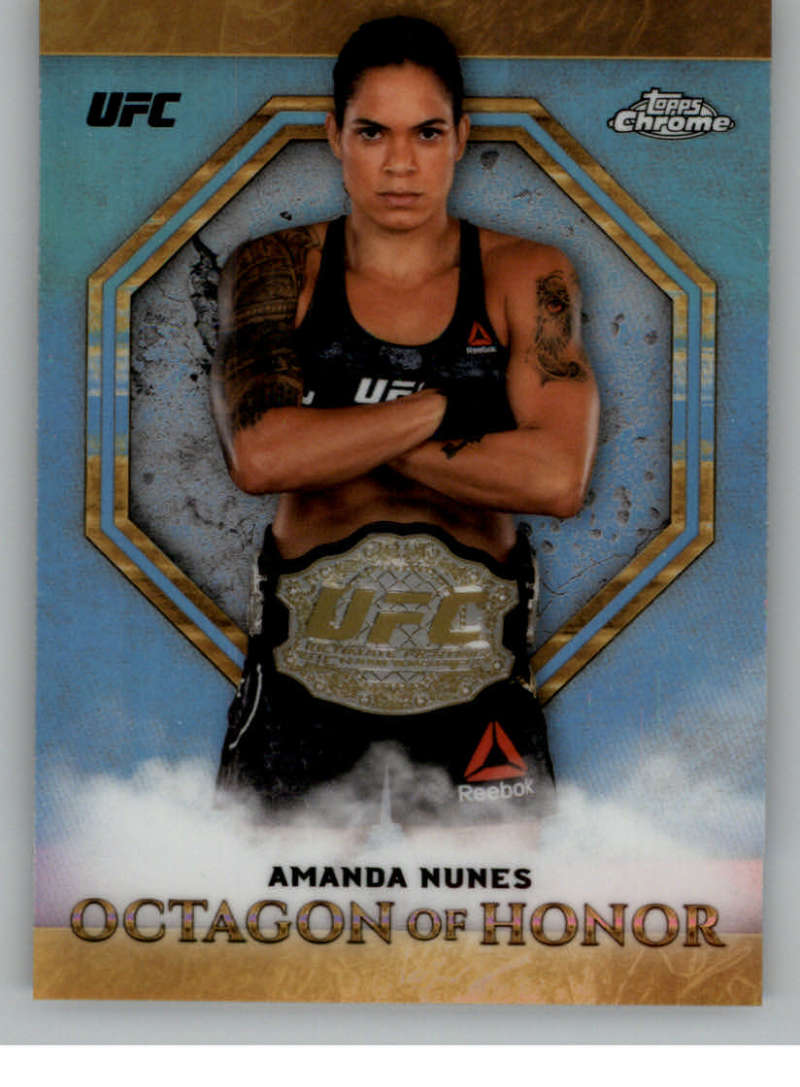 2019 Topps UFC Chrome Octagon of Honor