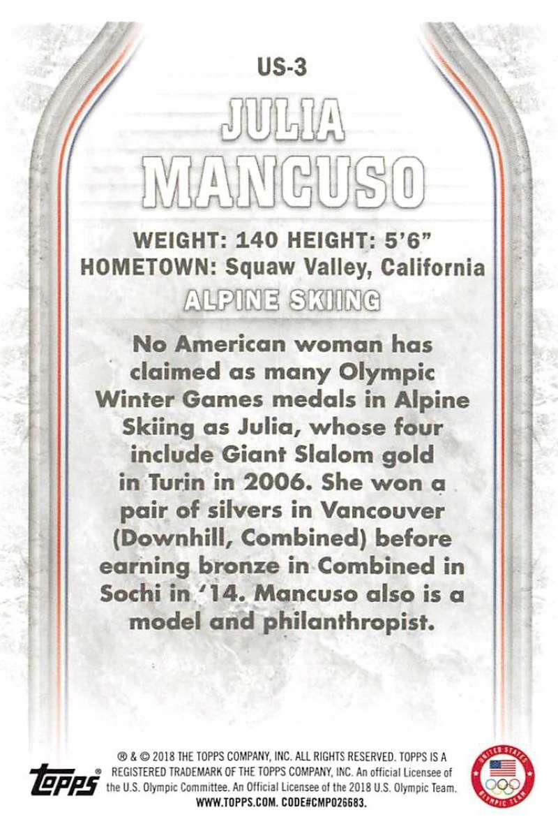 2018-Topps-Winter-Olympics-Team-USA-Base-Cards-Choose-039-s-US-1-48-USA-1-45 thumbnail 7