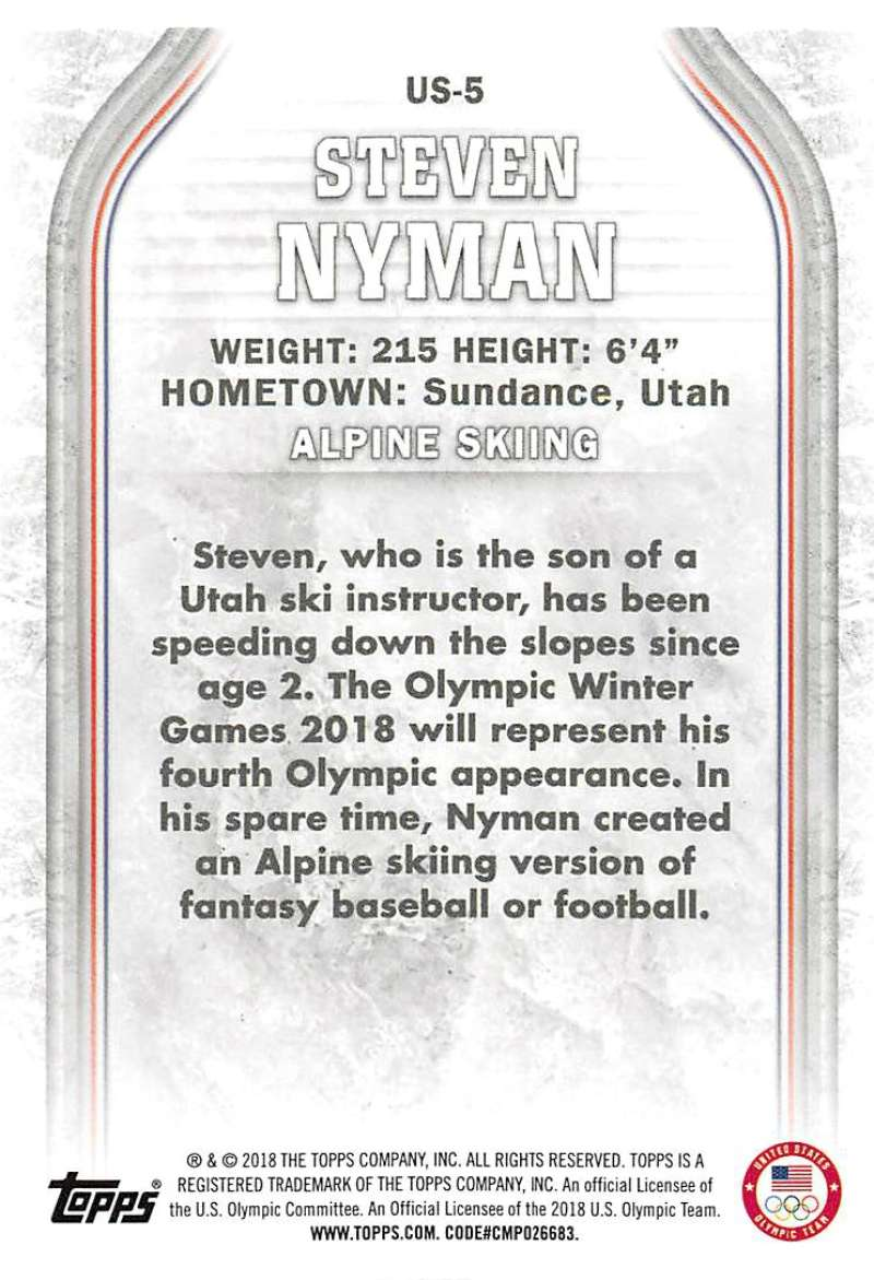 2018-Topps-Winter-Olympics-Team-USA-Base-Cards-Choose-039-s-US-1-48-USA-1-45 thumbnail 11