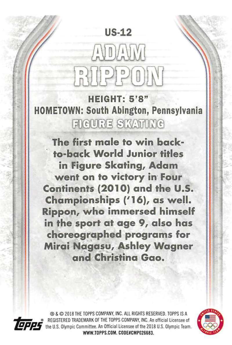 2018-Topps-Winter-Olympics-Team-USA-Base-Cards-Choose-039-s-US-1-48-USA-1-45 thumbnail 25