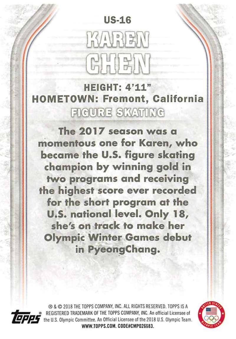 2018-Topps-Winter-Olympics-Team-USA-Base-Cards-Choose-039-s-US-1-48-USA-1-45 thumbnail 33