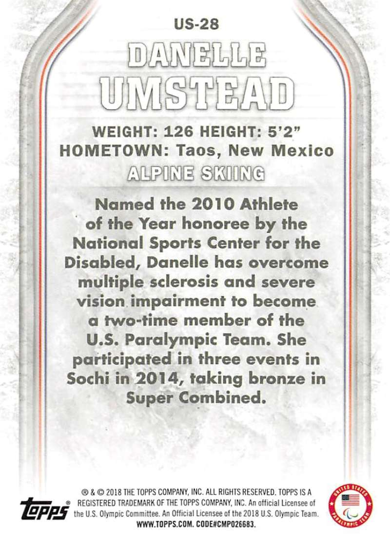 2018-Topps-Winter-Olympics-Team-USA-Base-Cards-Choose-039-s-US-1-48-USA-1-45 thumbnail 55