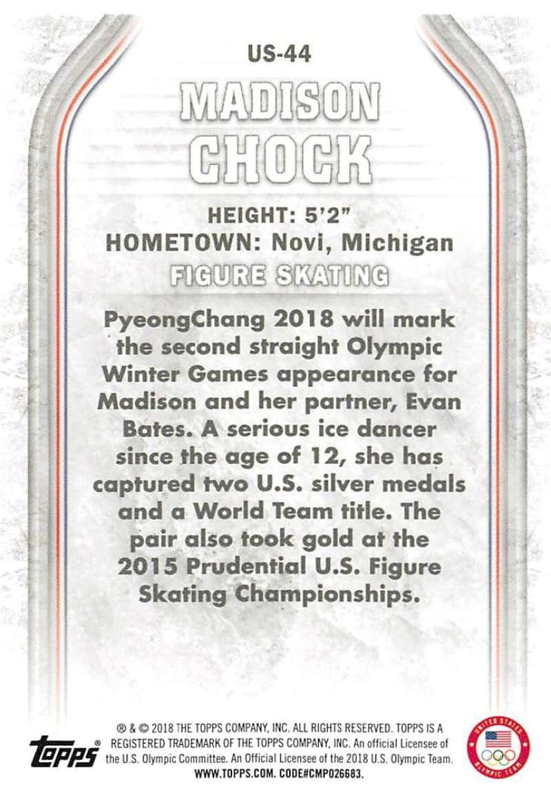 2018-Topps-Winter-Olympics-Team-USA-Base-Cards-Choose-039-s-US-1-48-USA-1-45 thumbnail 87