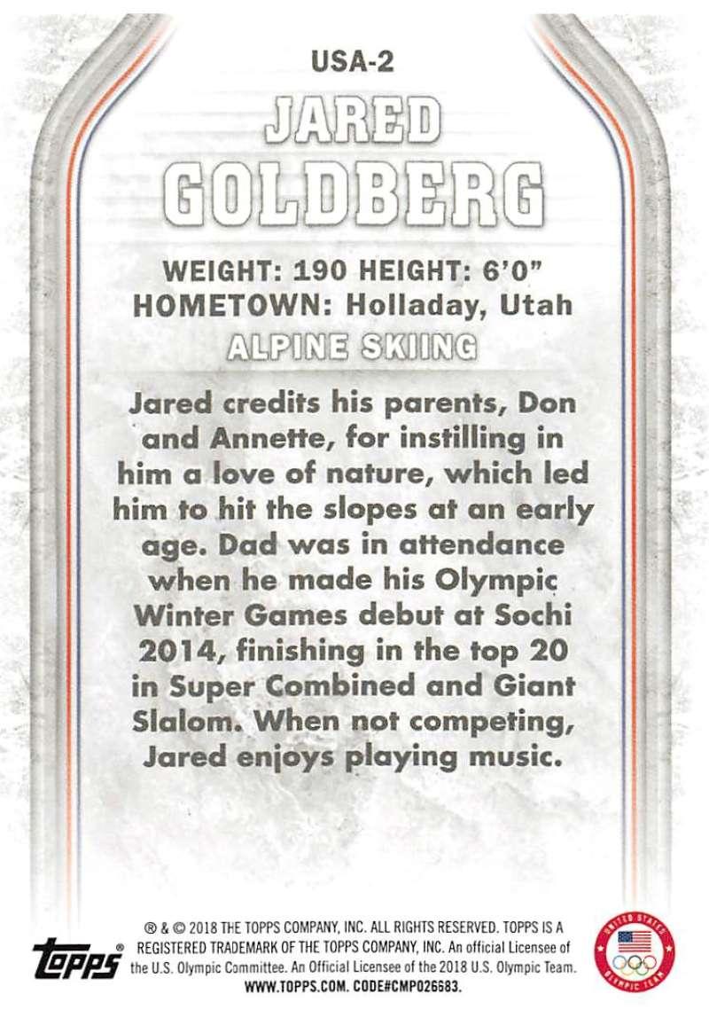 2018-Topps-Winter-Olympics-Team-USA-Base-Cards-Choose-039-s-US-1-48-USA-1-45 thumbnail 99