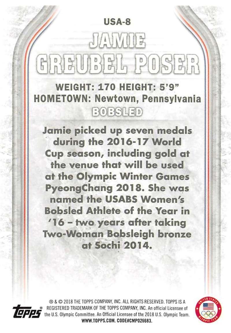 2018-Topps-Winter-Olympics-Team-USA-Base-Cards-Choose-039-s-US-1-48-USA-1-45 thumbnail 111
