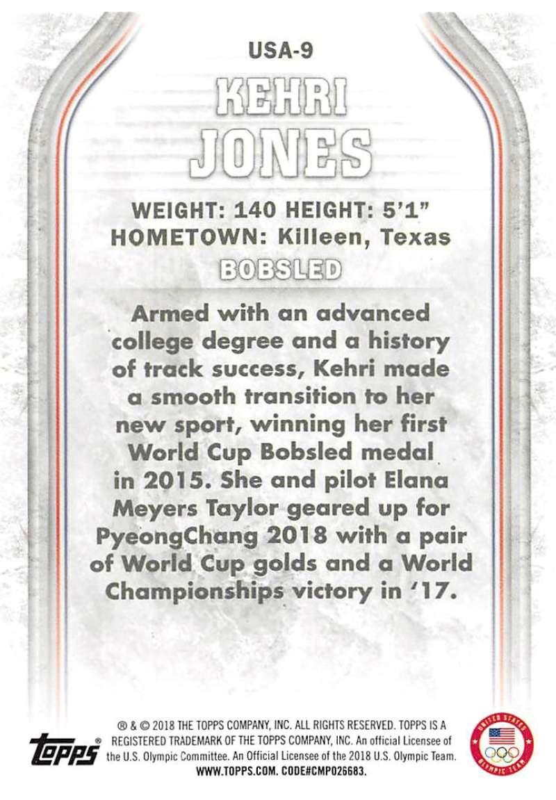 2018-Topps-Winter-Olympics-Team-USA-Base-Cards-Choose-039-s-US-1-48-USA-1-45 thumbnail 113