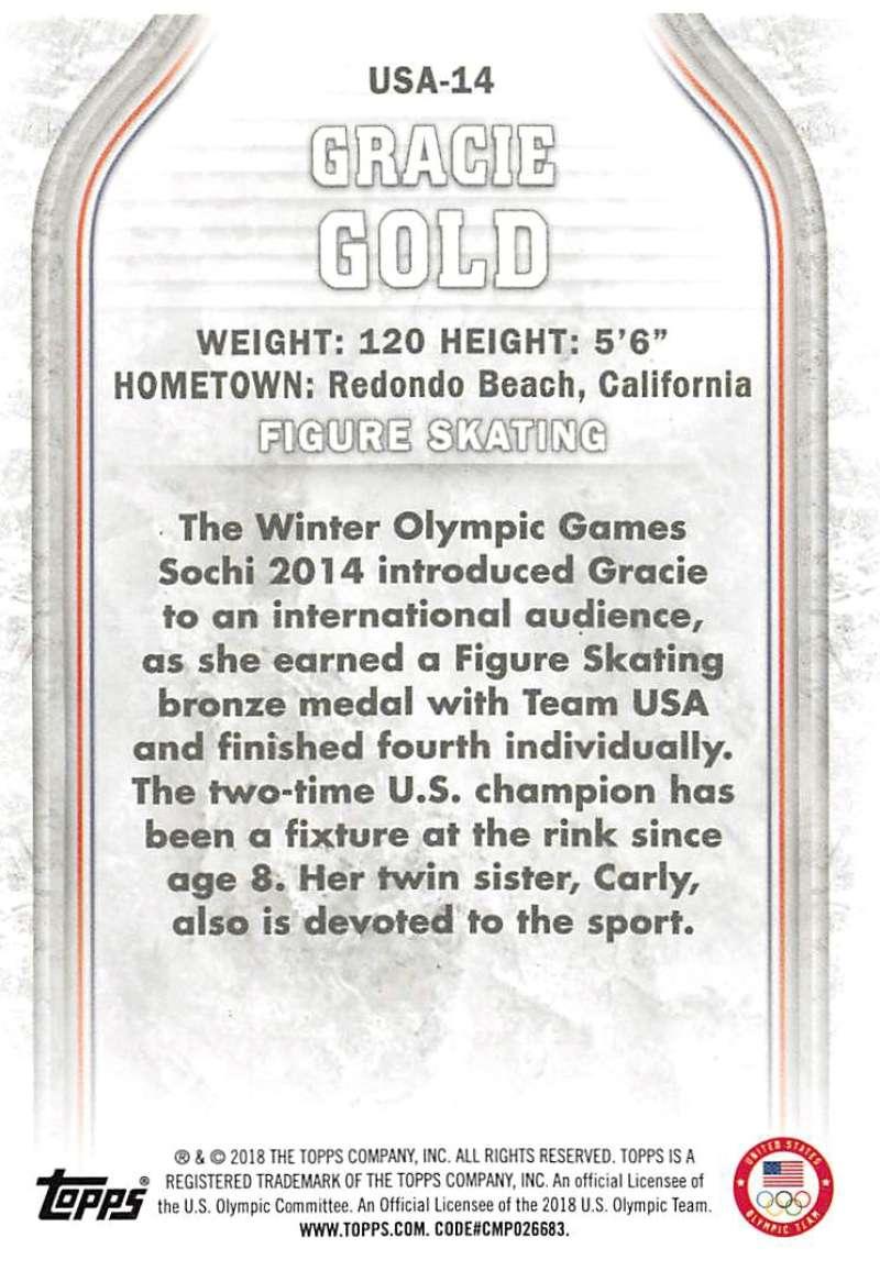 2018-Topps-Winter-Olympics-Team-USA-Base-Cards-Choose-039-s-US-1-48-USA-1-45 thumbnail 123