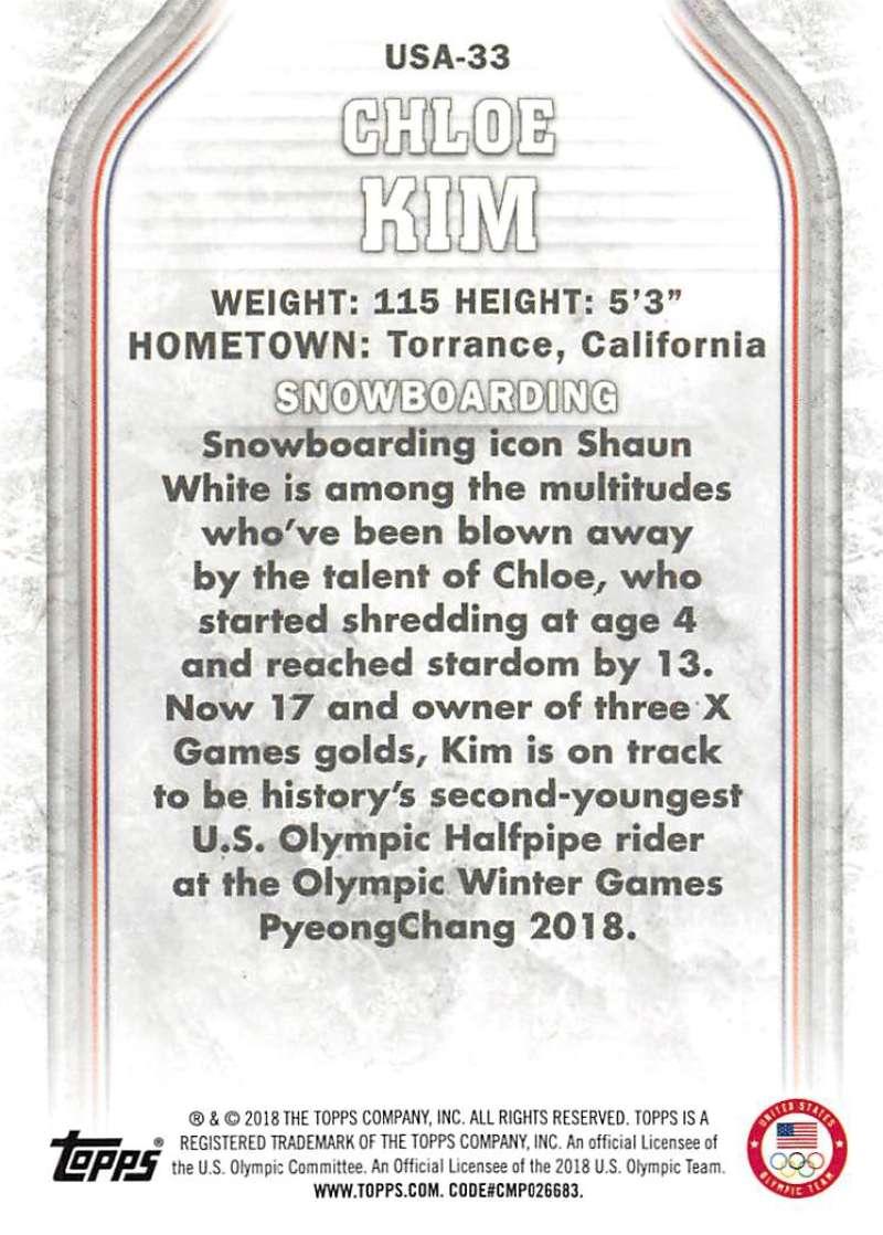 2018-Topps-Winter-Olympics-Team-USA-Base-Cards-Choose-039-s-US-1-48-USA-1-45 thumbnail 157