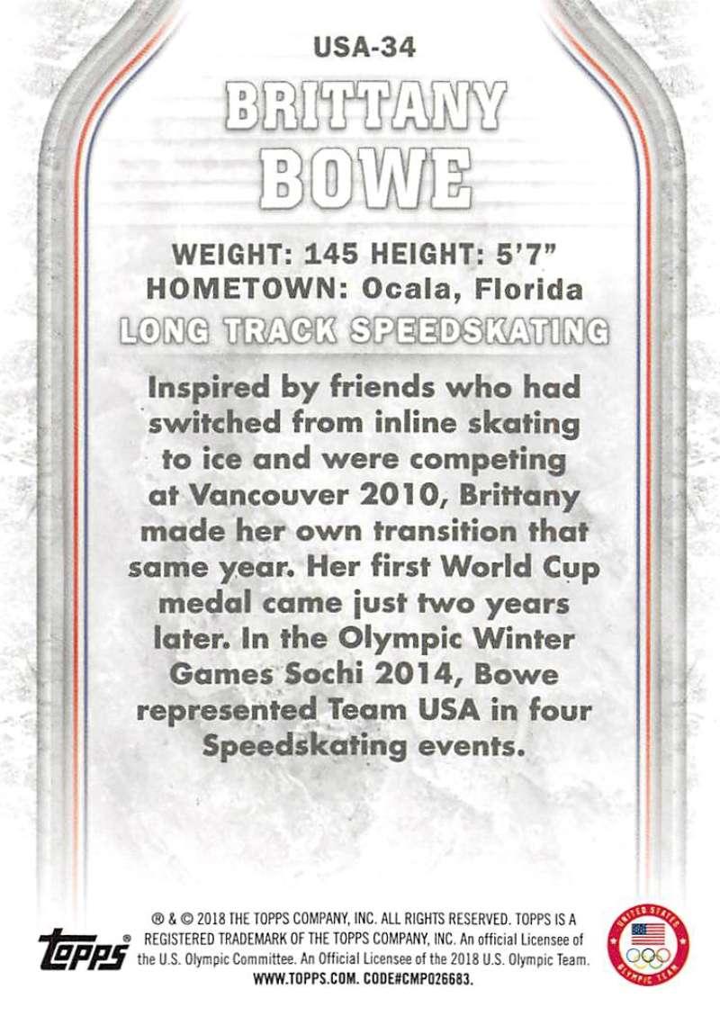2018-Topps-Winter-Olympics-Team-USA-Base-Cards-Choose-039-s-US-1-48-USA-1-45 thumbnail 159
