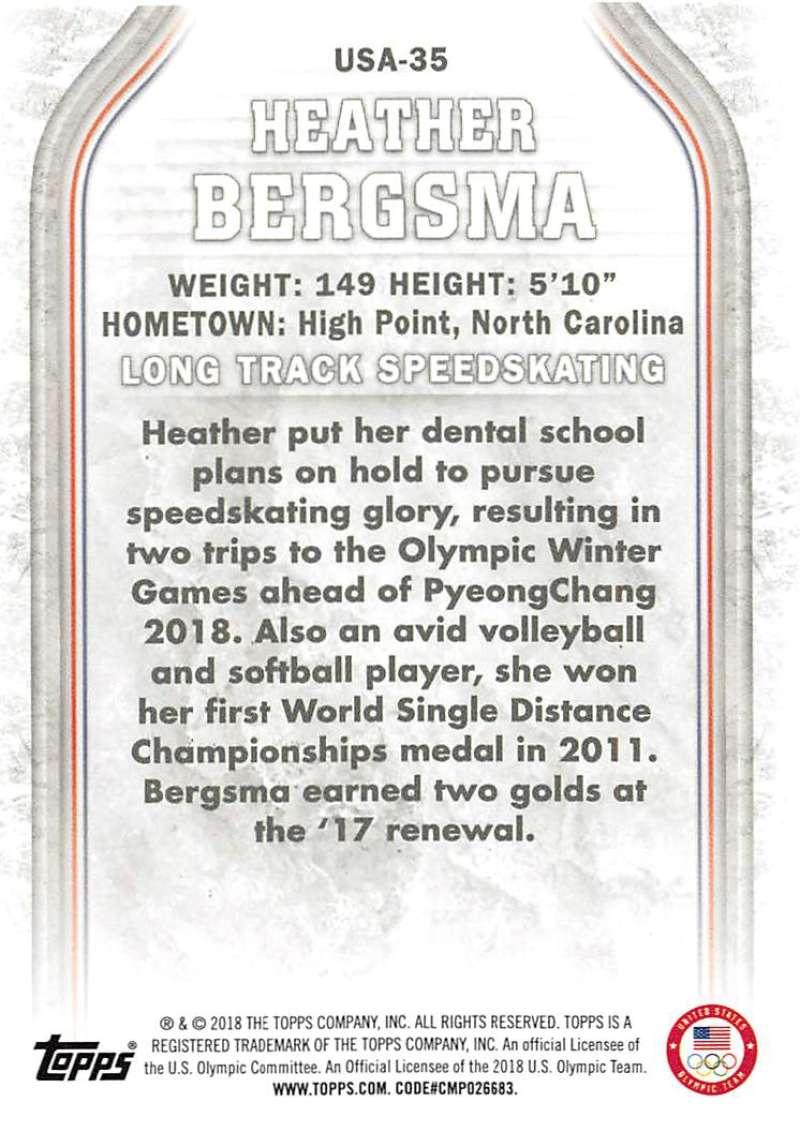 2018-Topps-Winter-Olympics-Team-USA-Base-Cards-Choose-039-s-US-1-48-USA-1-45 thumbnail 161