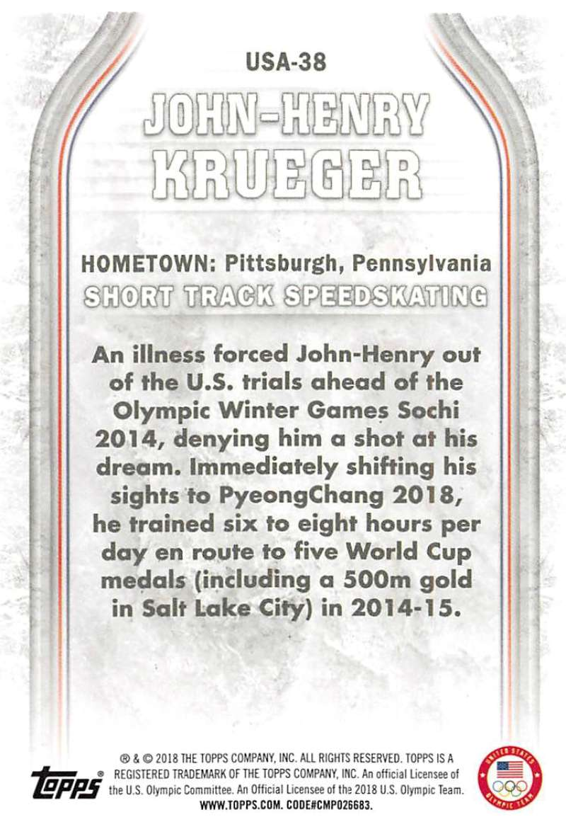2018-Topps-Winter-Olympics-Team-USA-Base-Cards-Choose-039-s-US-1-48-USA-1-45 thumbnail 167