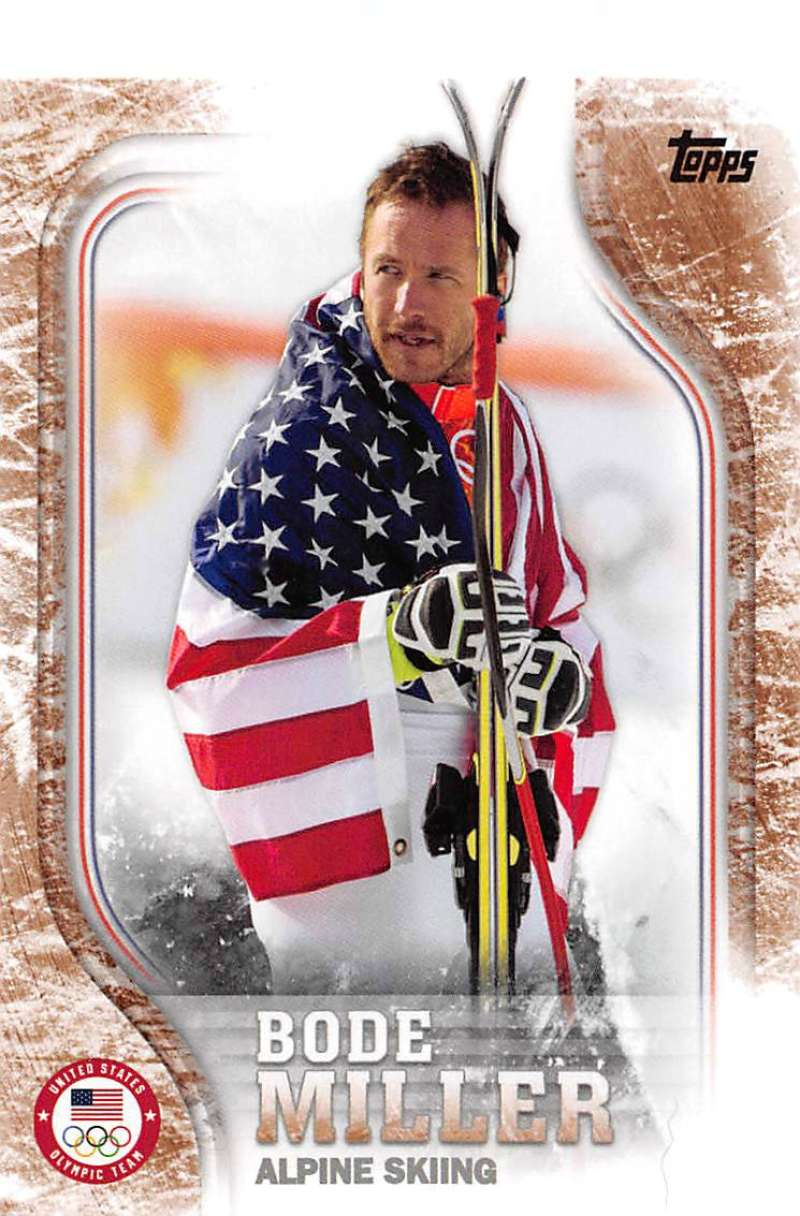 2018 Topps US Winter Olympics Bronze