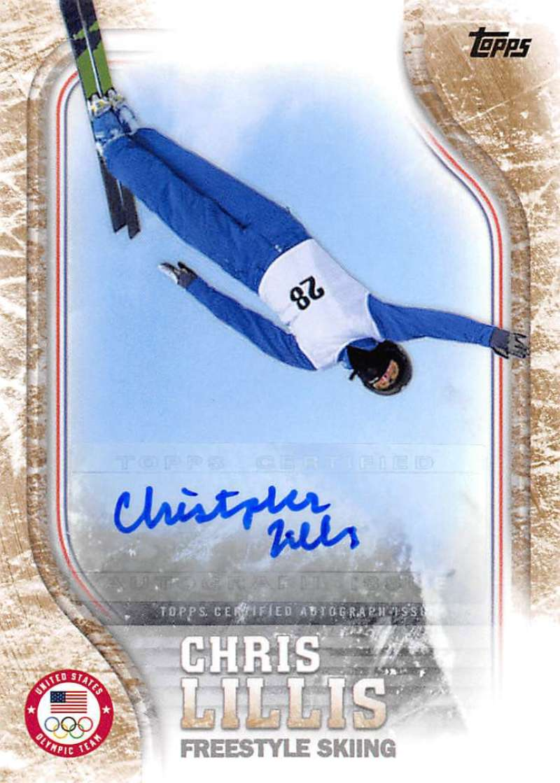 2018 Topps US Winter Olympics Autographs Gold