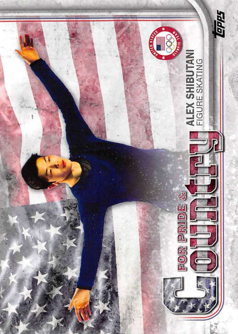 2018 Topps US Winter Olympics For Pride and Country