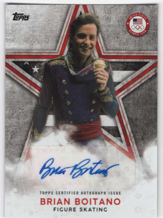2018 Topps US Winter Olympics Olympic Champions Autographs