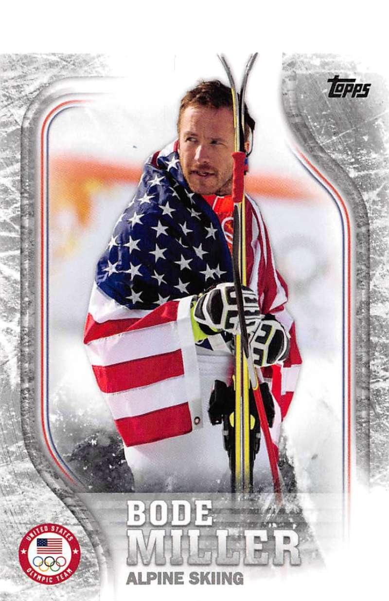 2018 Topps US Winter Olympics Silver