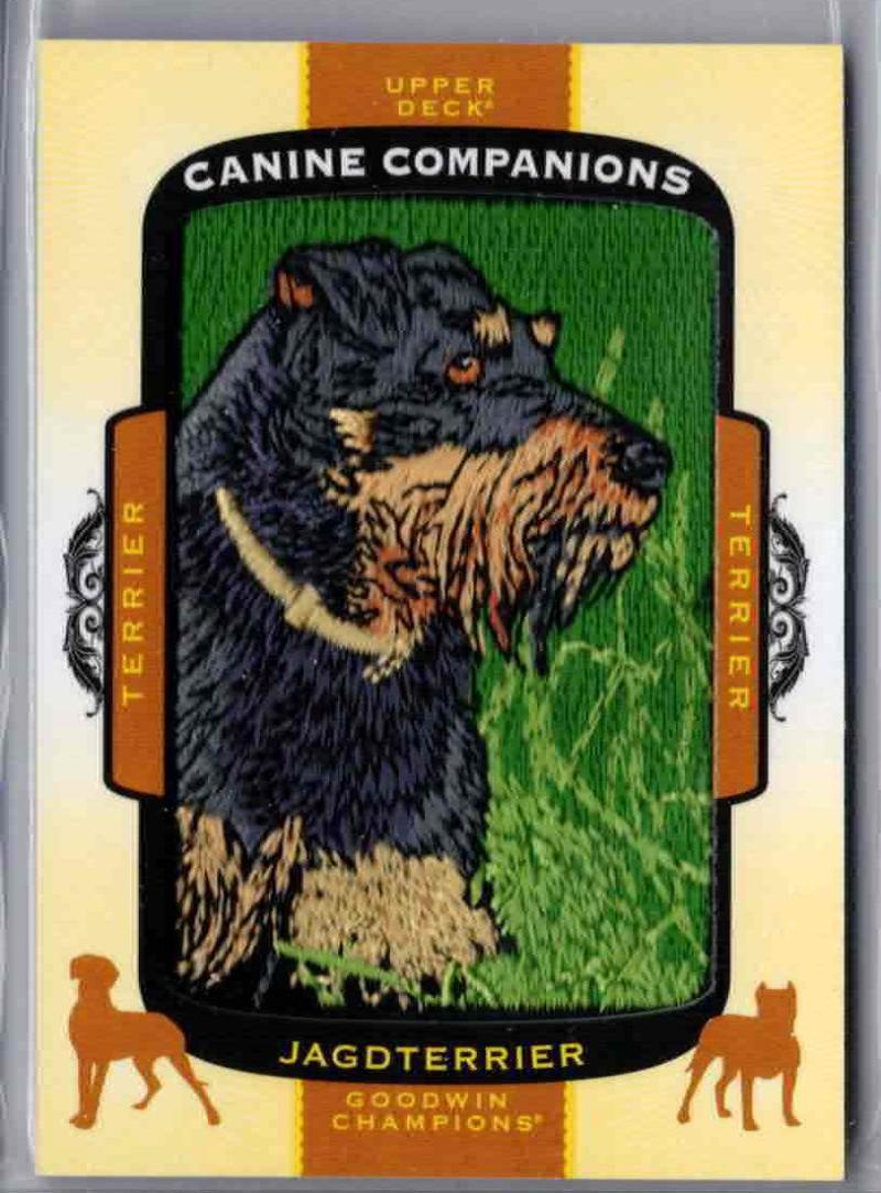 2018 Upper Deck Goodwin Champions Canine Companions #CC131 Scottish Terrier Card Verzamelkaarten: sport