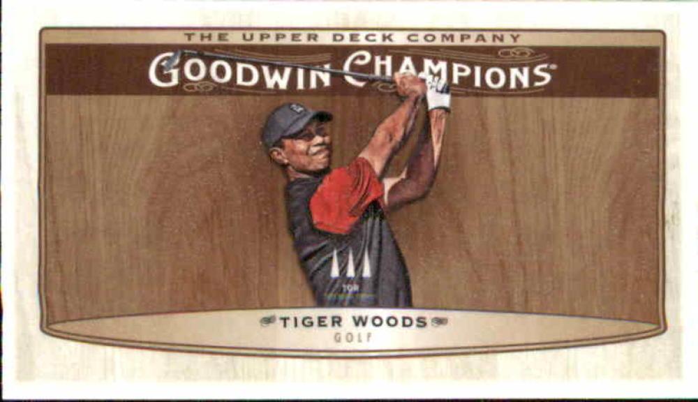 2019 Upper Deck Goodwin Champions Minis Wood