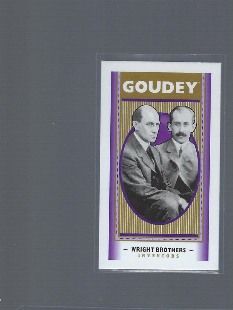 2019 Upper Deck Goodwin Champions Goudey Mini