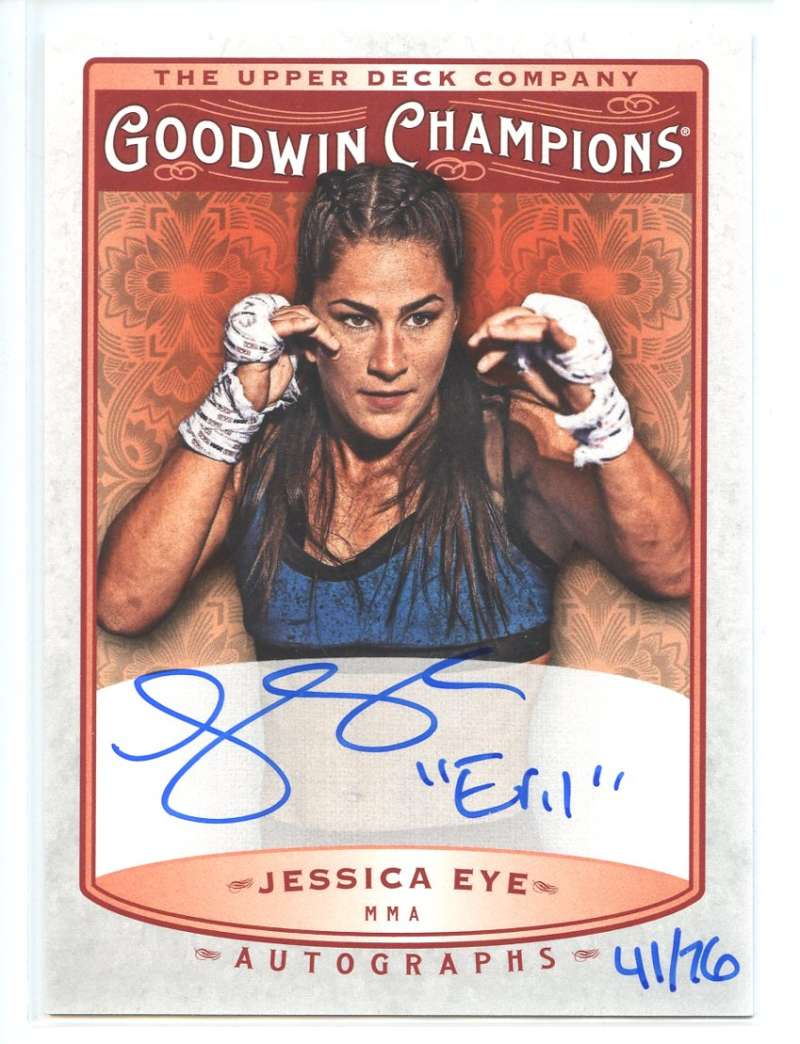 2019 Upper Deck Goodwin Champions Inscribed Autographs