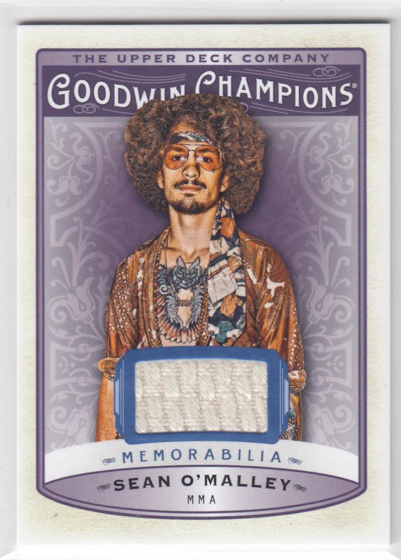 2019 Upper Deck Goodwin Champions Memorabilia