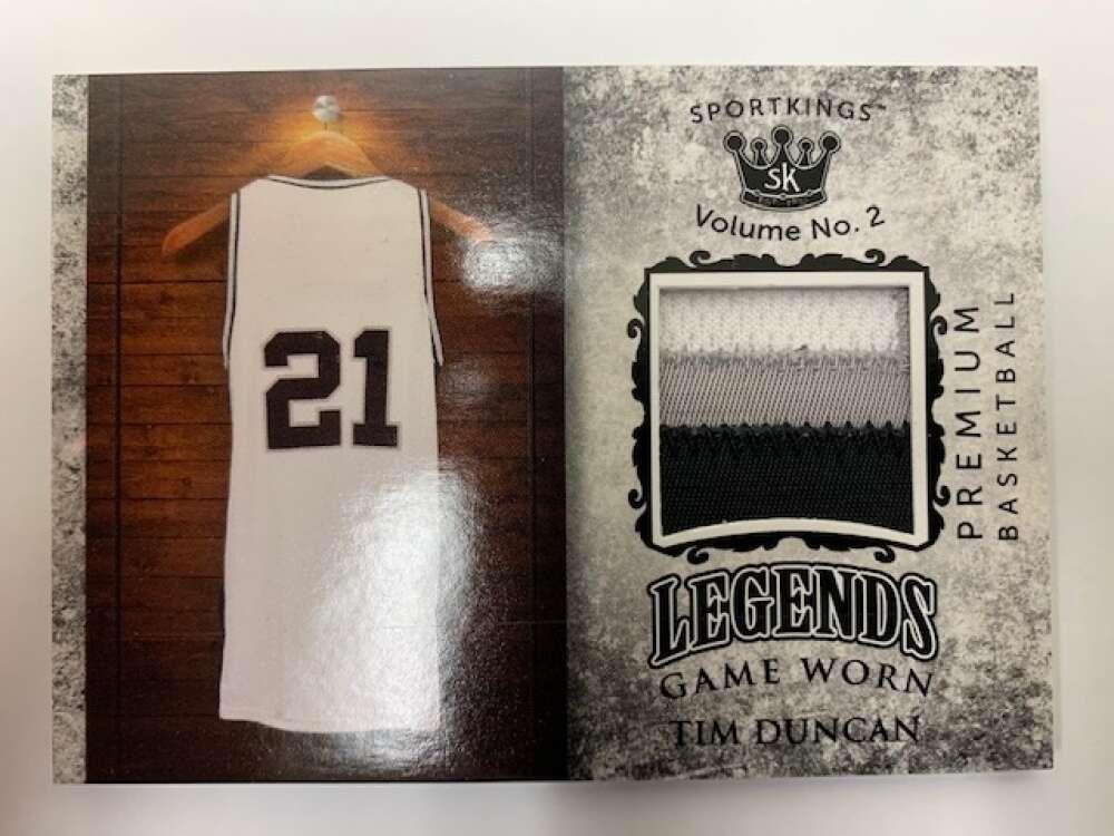 2021 Sportkings Volume 2 Legends Premium Relics