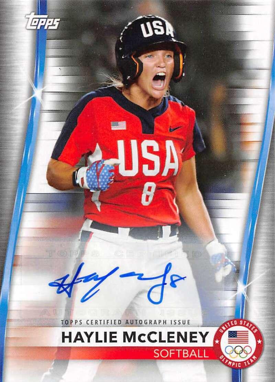 2021 Topps US Olympics and Paralympics Team Hopefuls Autographs