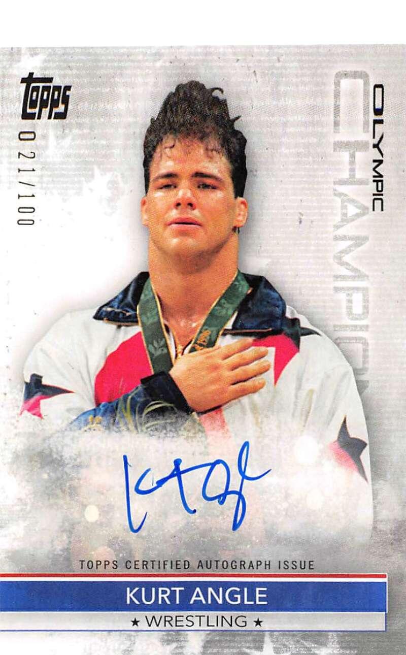 2021 Topps US Olympics and Paralympics Team Hopefuls Olympic Champions Autographs