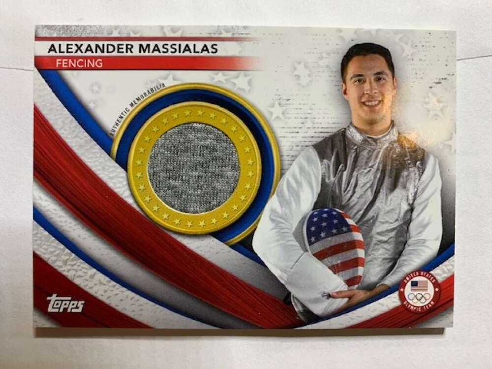 2021 Topps US Olympics and Paralympics Team Hopefuls Team USA Memorabilia Pieces