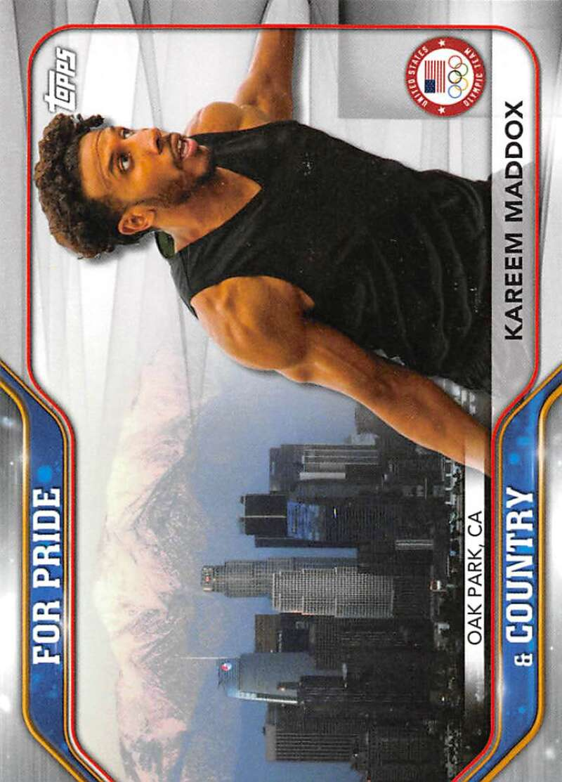 2021 Topps US Olympics and Paralympics Team Hopefuls For Pride and Country