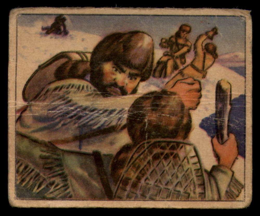1949 Bowman Wild West Picture Card Gum R701-19