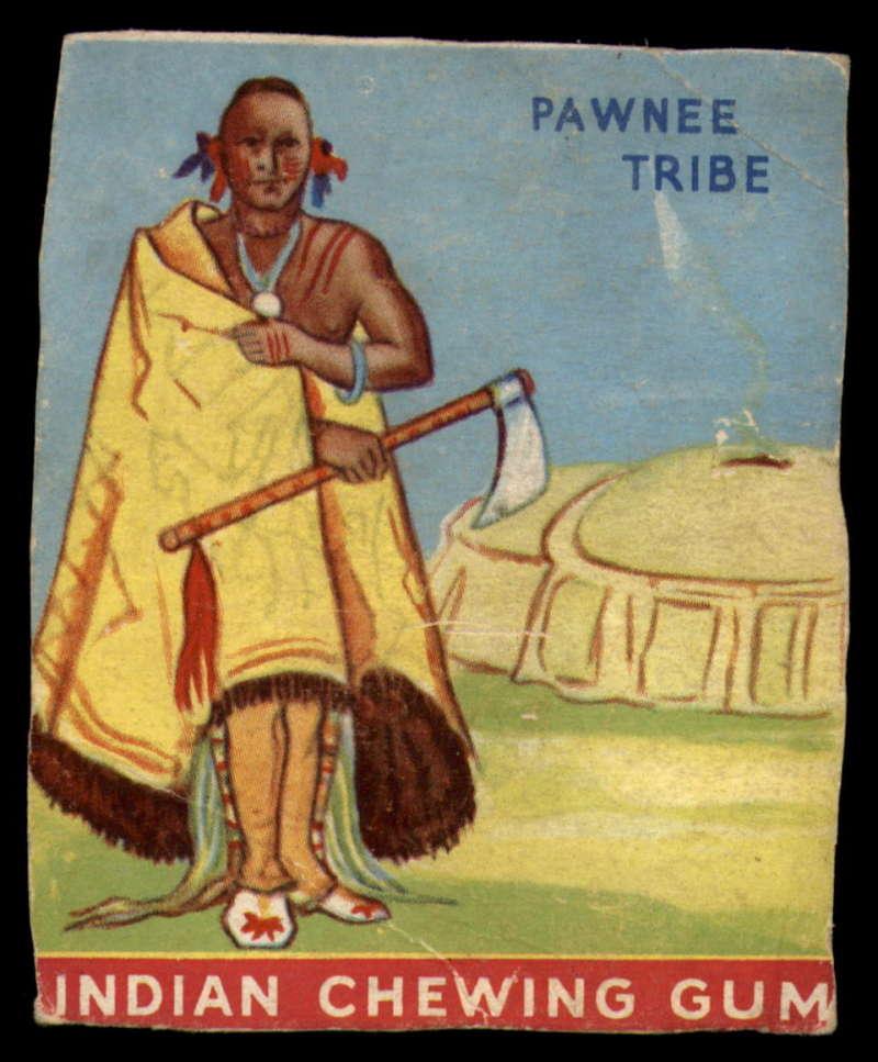 1933 Goudey Indian Gum