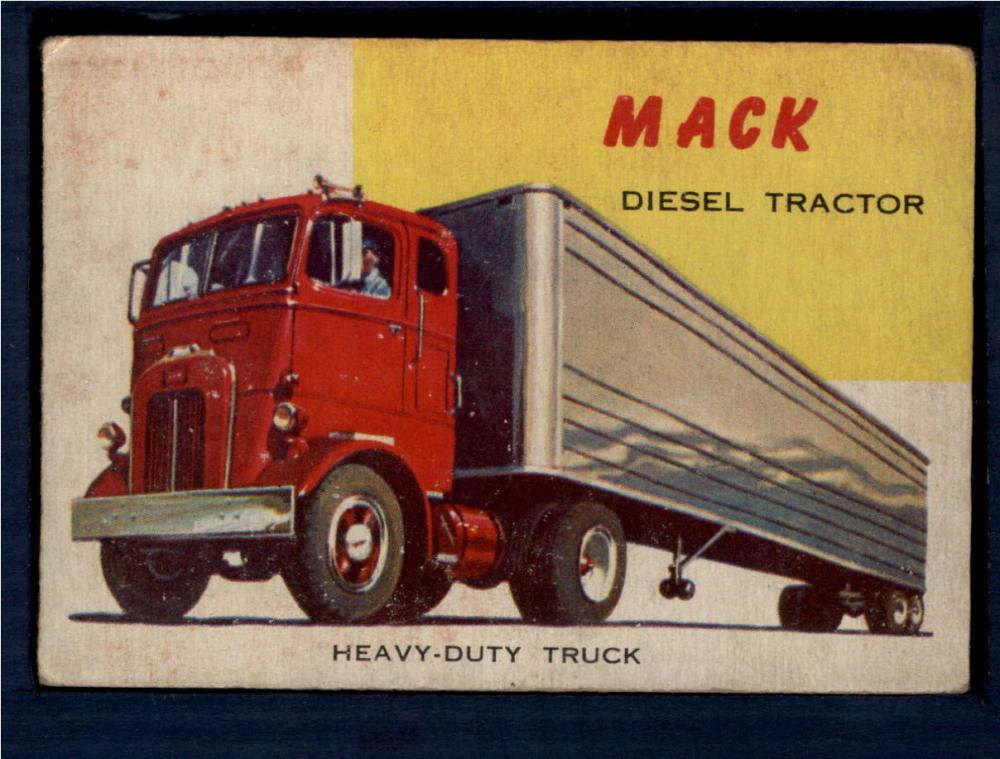 1953-55 Topps World on Wheels