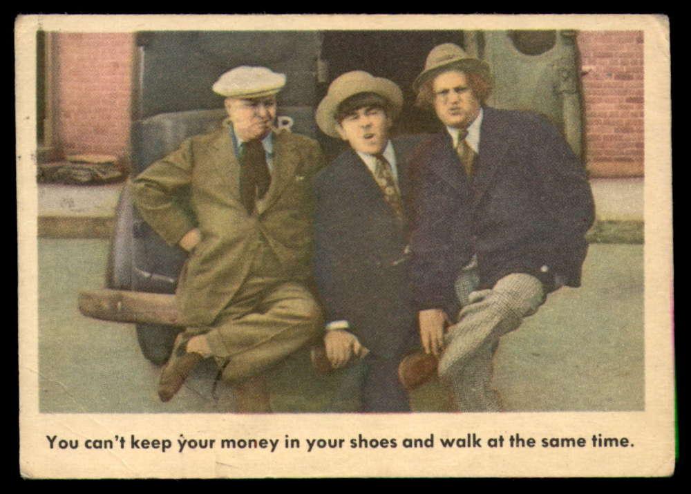 1959 Fleer The 3 Stooges