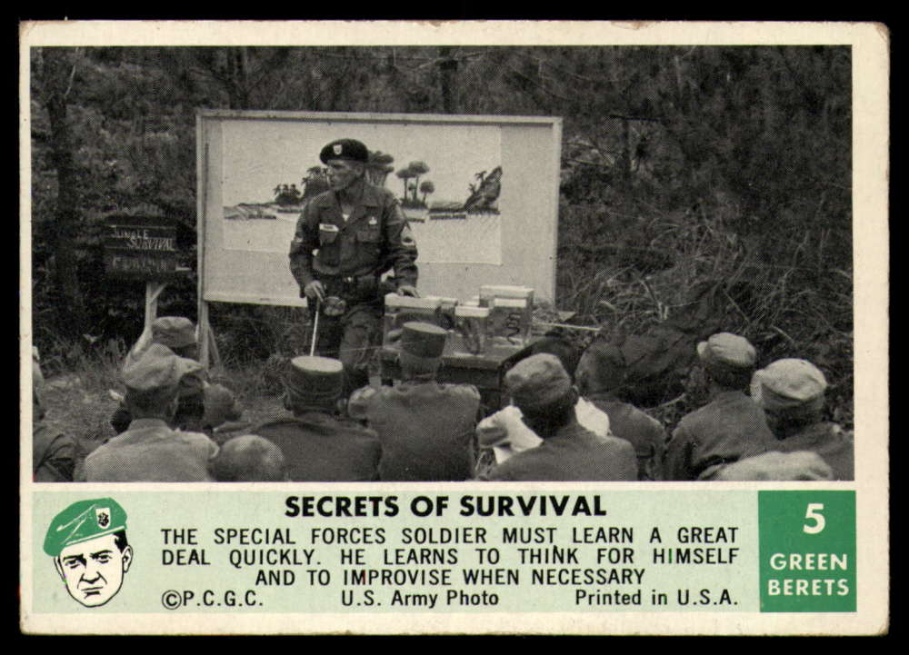 1966 Philly Gum Green Berets