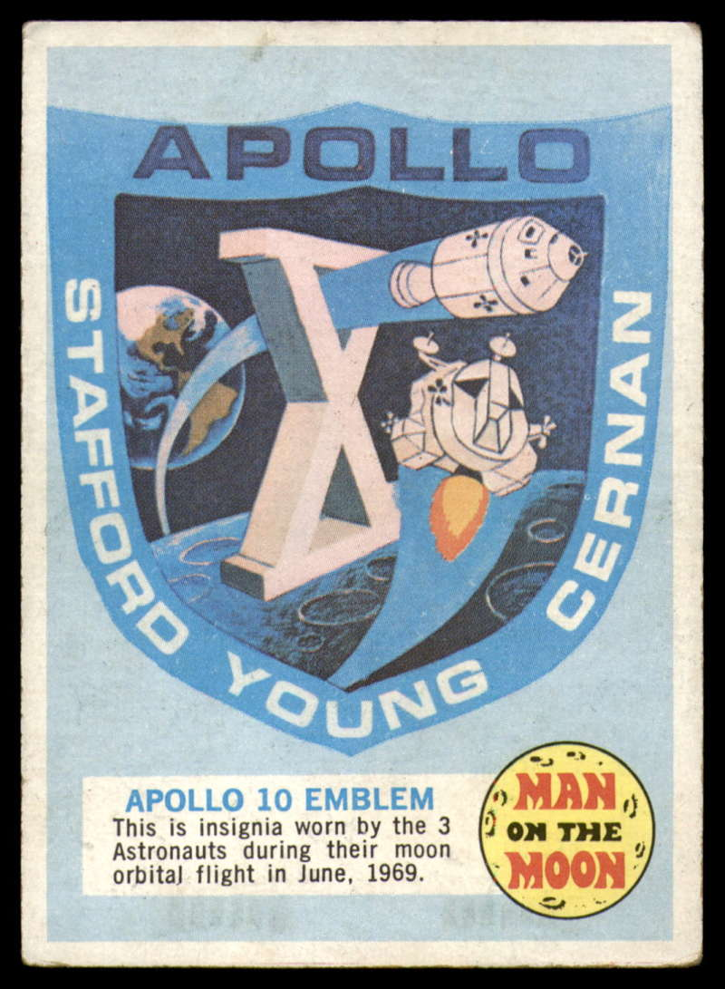1969 Topps Man on the Moon