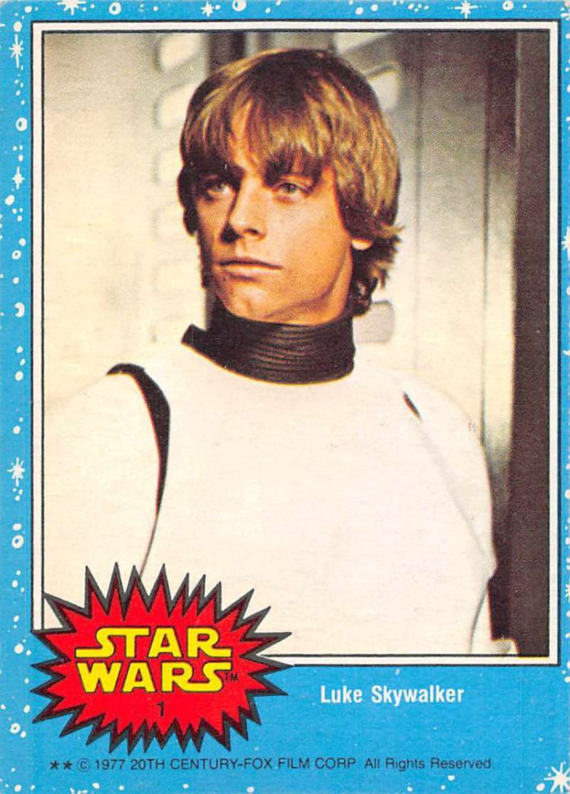 1977 O-Pee-Chee Star Wars