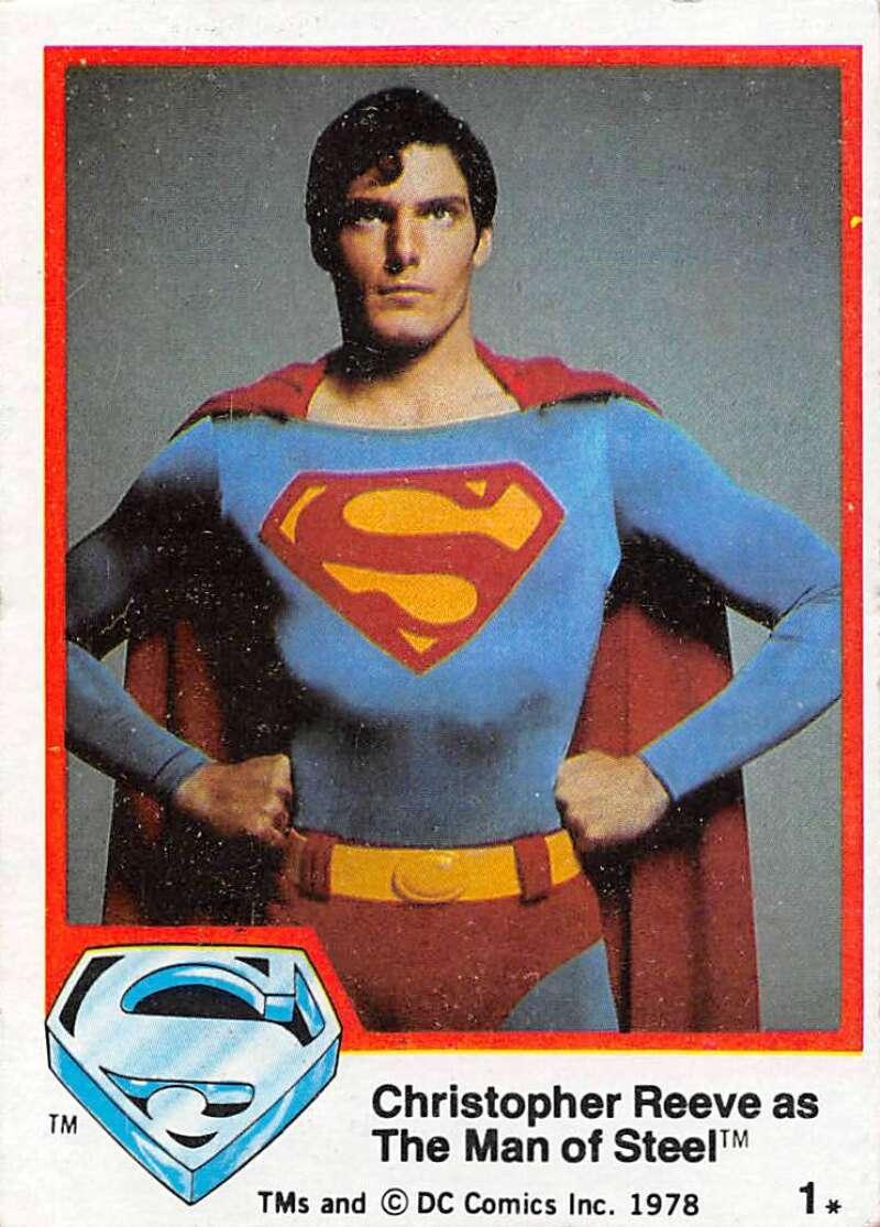 1978 Topps Superman